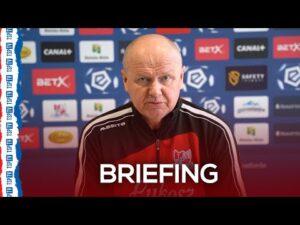Briefing prasowy przed meczem z Legią | 27.01.21