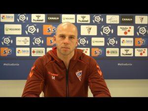 Martin Chudy przed meczem z Lechem (28.01.2021)