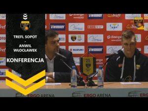 Konferencja po meczu Trefl Sopot – Anwil Włocławek | Trefl Sopot