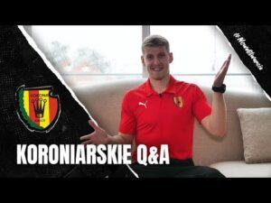 Read more about the article [ KORONIARSKIE Q&A #8 ] – Gdyby nie piłka, grałbym w tenisa stołowego