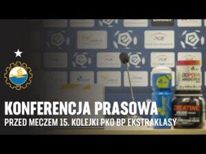 TV Stal: Konferencja prasowa przed meczem 15. kolejki PKO BP Ekstraklasy