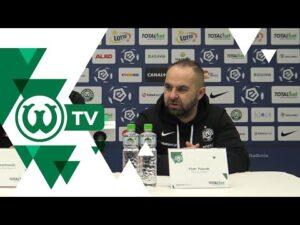 Piotr Tworek po meczu Warta Poznań – Cracovia Kraków