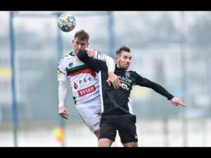 Sparing: Skrót meczu GKS Tychy – Ruch Chorzów 2:1