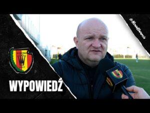 Trener Bartoszek po sparingu z FC Prisztina (31.01.2021)