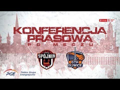 Konferencja prasowa po meczu PGE Spójnia Stargard – Legia Warszawa