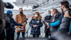 Read more about the article Być może już w 2021! Konferencja ws. rozbudowy stadionu ŁKS