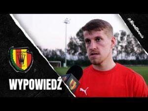 Jacek Podgórski po sparingu z FK Atyrau (04.02.2021)