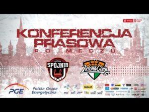 Konferencja prasowa po meczu PGE Spójnia Stargard – Enea Zastal BC Zielona Góra