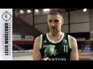 🏀🎙| Arged BMSlam Stal – Legia: Pomeczowe wypowiedzi | Legia Warszawa Koszykówka