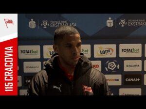 Rivaldo Jr po meczu 1/8 Fortuna Pucharu Polski z Wartą Poznań (09.02.2021) [NAPISY PL]