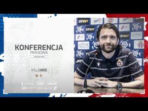 Konferencja prasowa przed meczem ze Śląskiem Wrocław (11.02.2021)