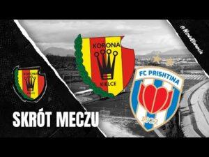Skrót sparingu Korona Kielce – FC Prisztina 0:3 (02.02.2021)