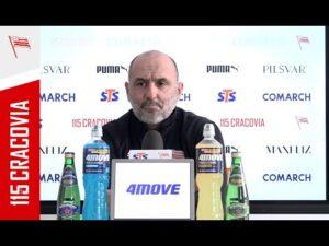 Konferencja Trenera Michała Probierza przed meczem z Podbeskidziem Bielsko-Biała (12.02.2021)