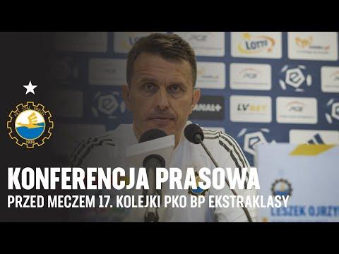 TV Stal: Konferencja prasowa przed meczem 17. kolejki PKO BP Ekstraklasy