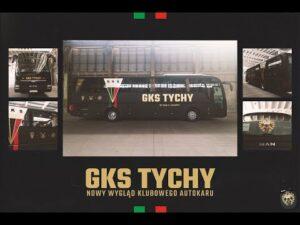 Nowy AUTOKAR GKS Tychy!