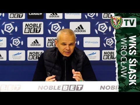 Konferencja prasowa po meczu Śląsk – Wisła
