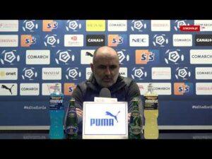 Konferencja po meczu Cracovia – Podbeskidzie Bielsko-Biała (13.02.2021)