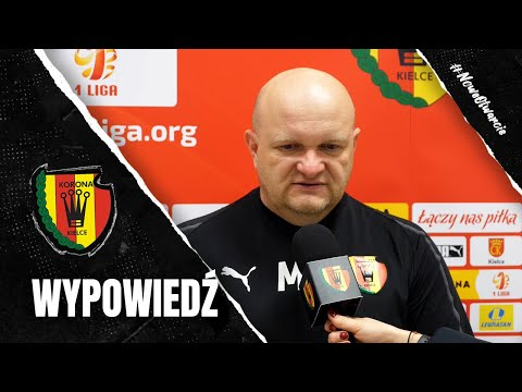 Trener Bartoszek po sparingu z GKS-em Katowice (13.02.2021)