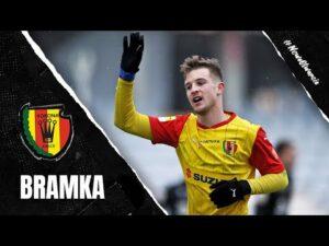 Bramka Marko Pervana ze sparingu z GKS-em Katowice (13.02.2021)