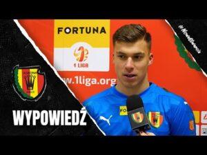 Marceli Zapytowski po sparingu z GKS-em Katowice (13.02.2021)