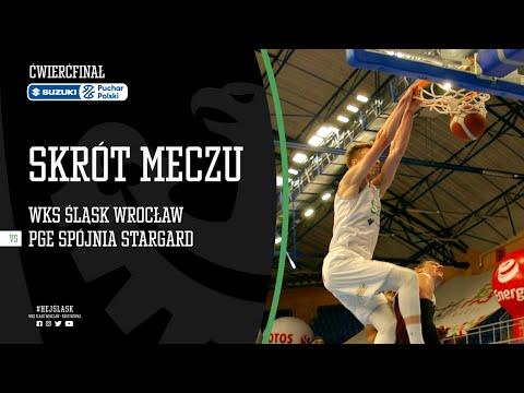 #SPP SKRÓT: WKS Śląsk Wrocław – PGE Spójnia Stargard 73:92