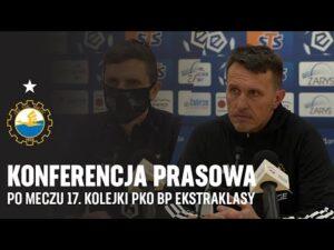 TV Stal: Konferencja prasowa po meczu 17. kolejki PKO BP Ekstraklasy