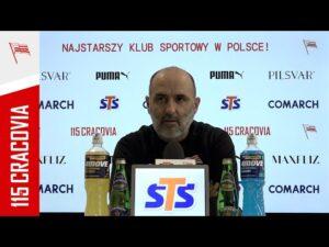 Konferencja prasowa przed meczem ze Stalą Mielec (17.02.2021)