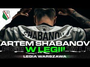 Read more about the article ARTEM SHABANOV PIŁKARZEM LEGII! Zobacz kulisy transferu!