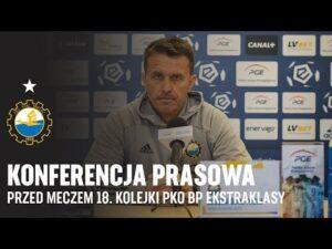 TV Stal: Konferencja prasowa przed meczem 18. kolejki PKO BP Ekstraklasy