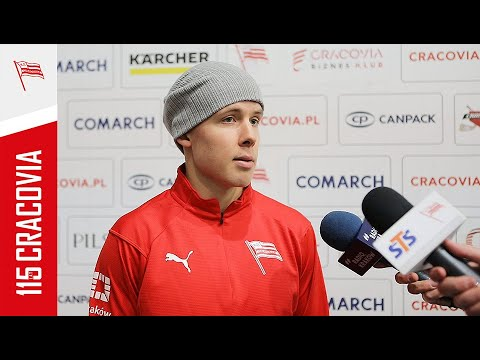 Emil Oksanen po meczu z JKH GKS Jastrzębie (17.02.2021) [NAPISY PL]
