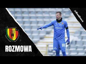 Marek Kozioł przed meczem z Widzewem Łódź (18.02.2021)