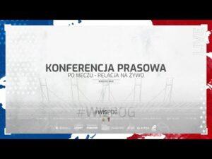 Konferencja prasowa po meczu Wisła Kraków – Pogoń Szczecin