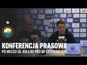 TV Stal: Konferencja prasowa po meczu 18. kolejki PKO BP Ekstraklasy