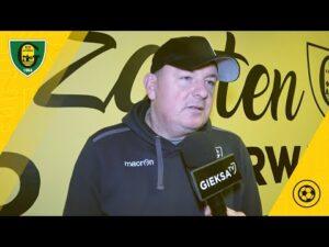 Read more about the article Trener Rafał Górak po meczu sparingowym GKS Katowice – Stal Brzeg 3:0 (20 02 2021)