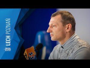 KONFERENCJA prasowa trenera Dariusza ŻURAWIA przed meczem z ZAGŁĘBIEM Lubin