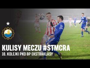 TV Stal: Kulisy meczu #STMCRA 18. kolejki PKO BP Ekstraklasy