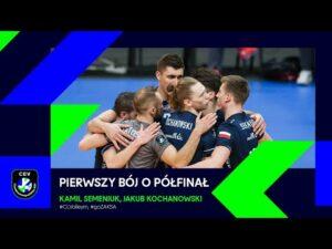 Pierwszy bój o półfinał #CLVolleyM!   Kamil Semeniuk, Jakub Kochanowski