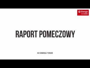 Raport pomeczowy KH Energa Toruń – Comarch Cracovia 2:1