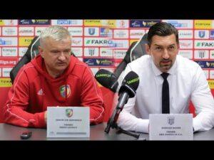 2021-02-27 Sandecja – Miedź Legnica 2-0 (1-0), pomeczowa konferencja prasowa