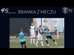 Bramka z meczu: Skra Częstochowa – Garbarnia Kraków, 27.02.2021