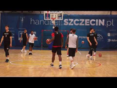 King Szczecin trenuje przed meczem z Treflem Sopot