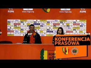 Konferencja prasowa po meczu Korona Kielce – Chrobry Głogów