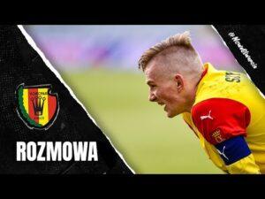 Grzegorz Szymusik po meczu z Chrobrym Głogów (28.02.2021)