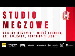Read more about the article STUDIO MECZOWE 🎥⚪🔴 Apklan Resovia – Miedź Legnica