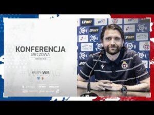 Read more about the article Konferencja prasowa przed meczem #WISGÓR