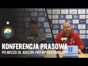 Read more about the article TV Stal: Konferencja prasowa po meczu 16. kolejki PKO BP EKstraklasy