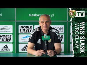 Read more about the article Konferencja prasowa przed meczem Śląsk – Legia