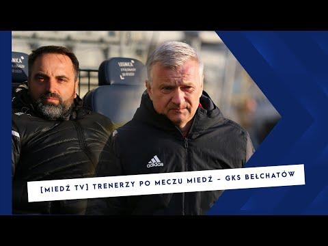 [MIEDŹ TV] Wypowiedzi trenerów po meczu Miedź – GKS Bełchatów