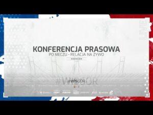 Konferencja prasowa po meczu Wisła Kraków – Górnik Zabrze