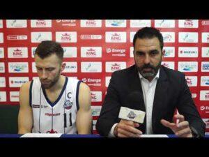 Konferencja po meczu King Szczecin – Trefl Sopot